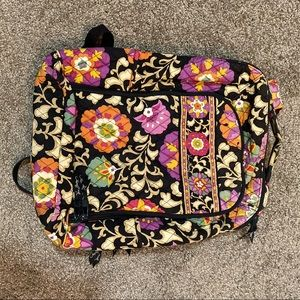 Vera Bradley Old Style Campus Backpack